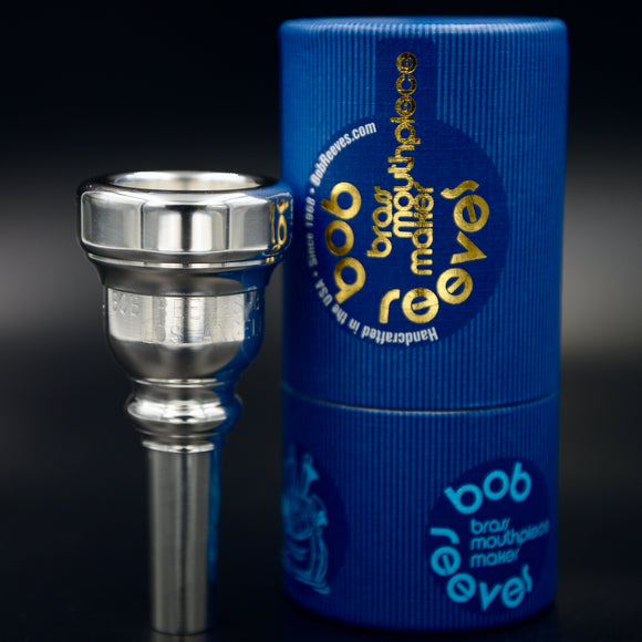 O.Bass Bass Trombone Mouthpiece by Bob Reeves-Brass Ark