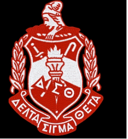 Delta Sigma Theta Crest Patch 2 7/8 Inches