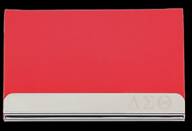 Delta Sigma Theta Business Card Holder