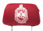 Delta Sigma Theta Car Seat Headrest Cover