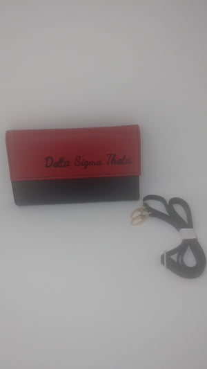 Delta Sigma Theta Small Purse
