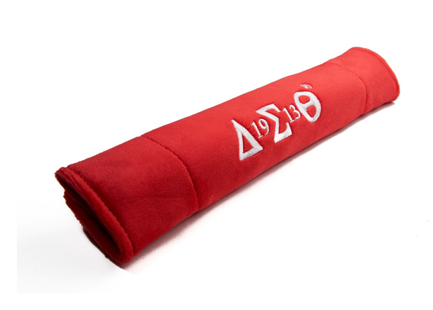 Delta Sigma Theta Embroidered Seat Belt Sleeve