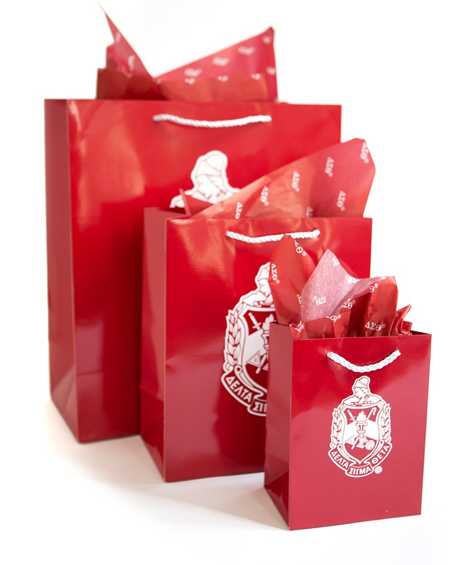 Delta Sigma Theta Gift Bag Set