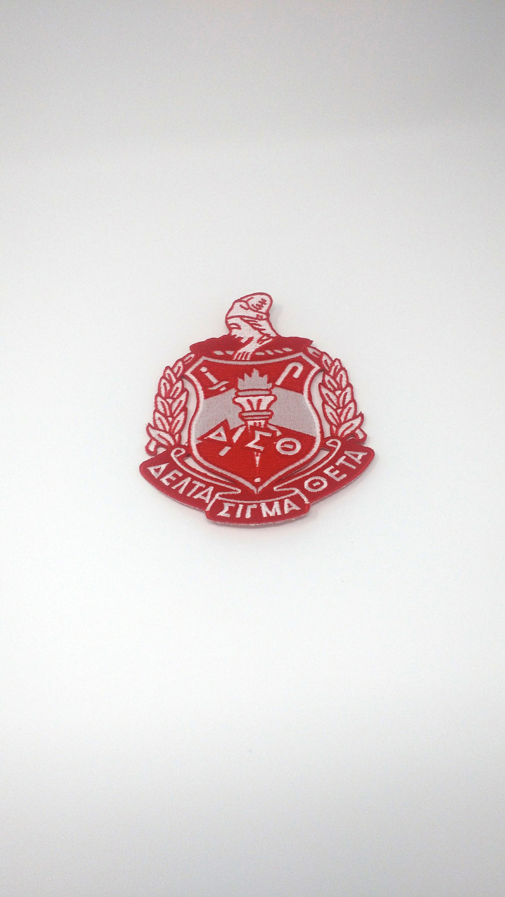 Delta Sigma Theta Crest Patch 5 Inches