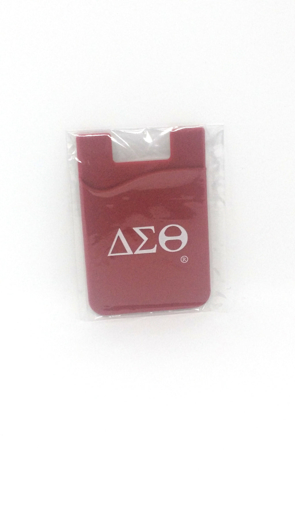 Delta Sigma Theta Silicone Phone Pocket/Card Holder