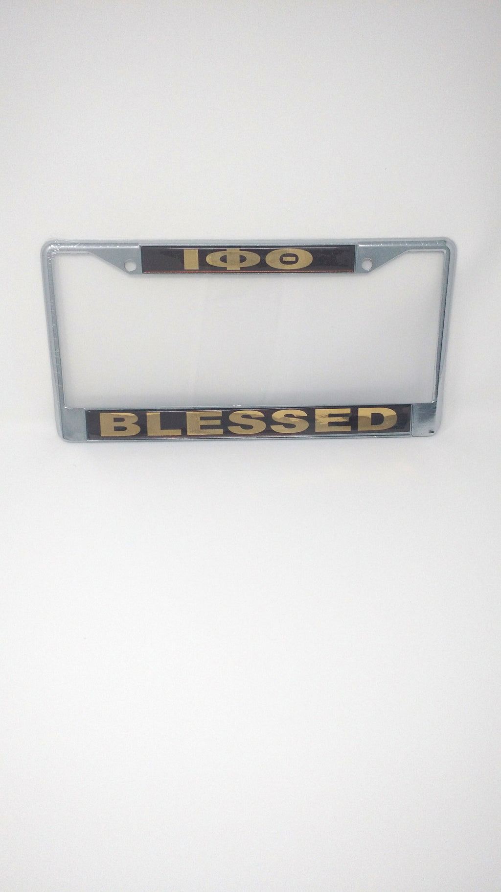 Iota Phi Theta Blessed License Plate Frame