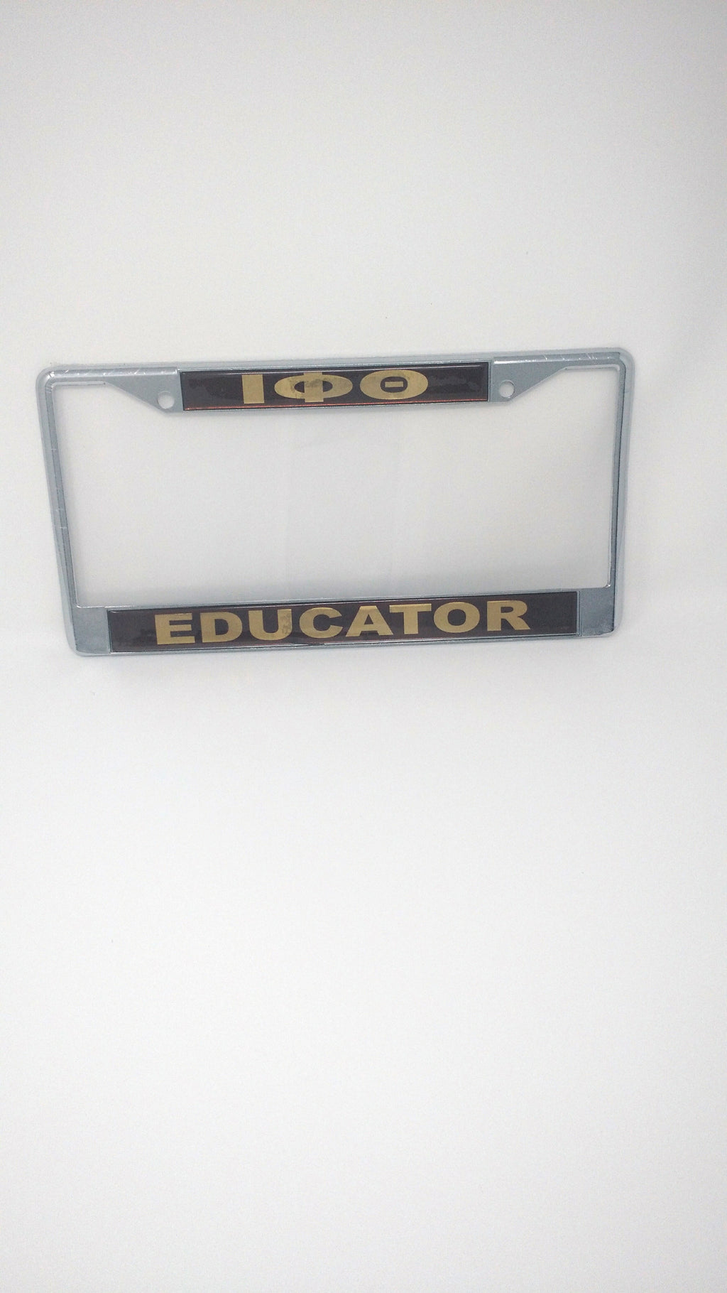 Iota Phi Theta Educator License Plate Frame