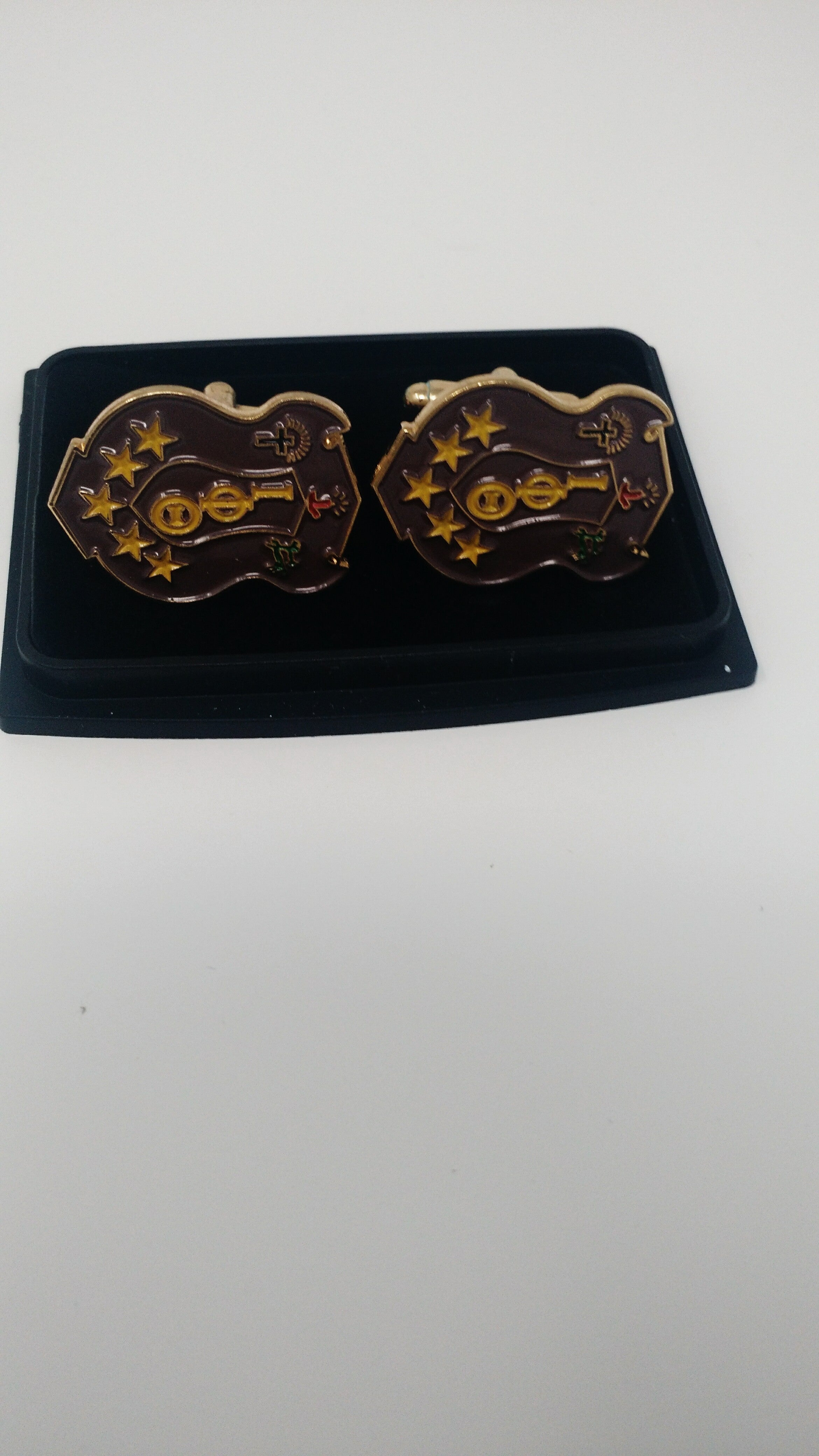 Iota Phi Theta Shield Cuff Links