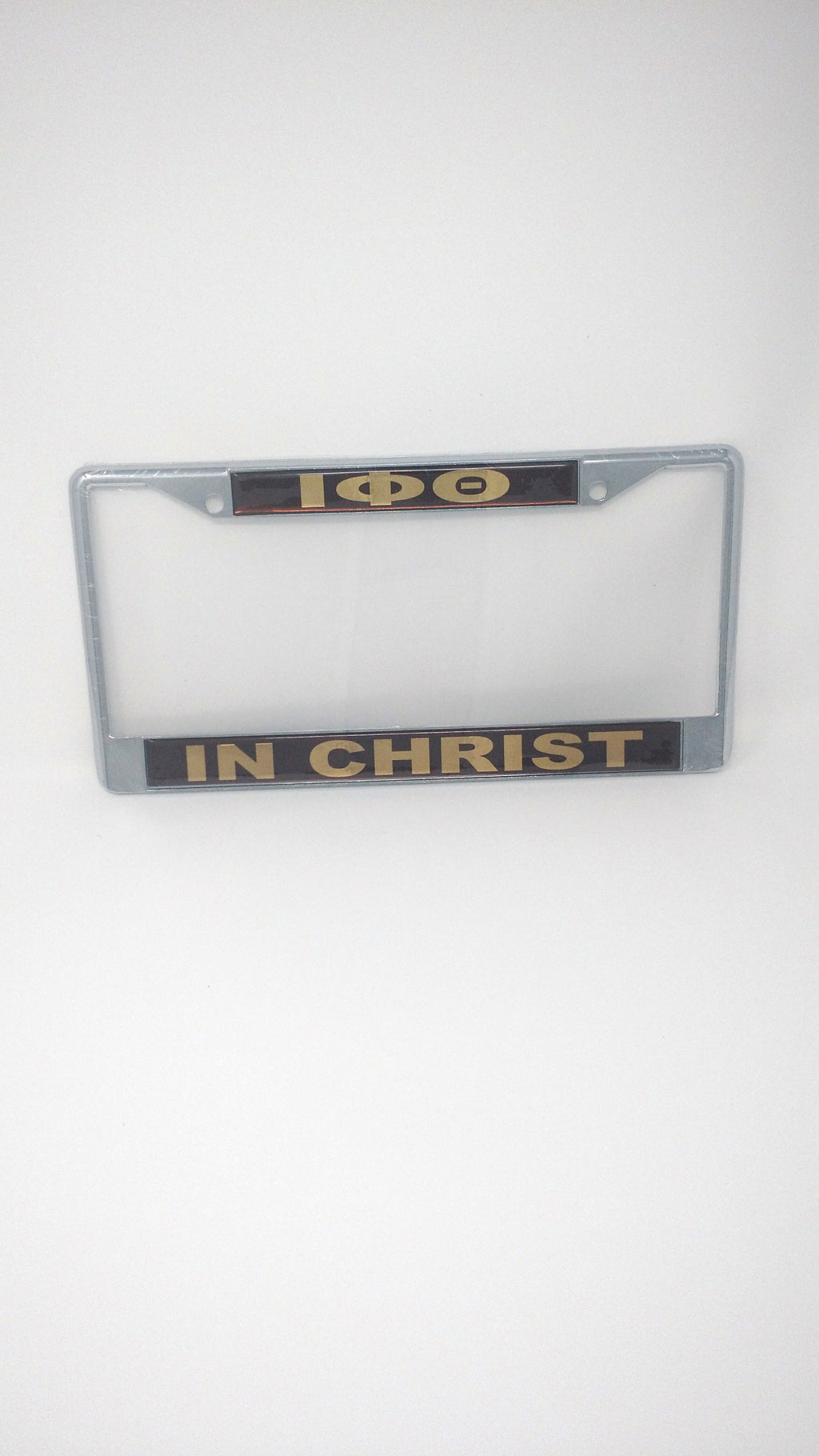 Iota Phi Theta In Christ License Plate Frame
