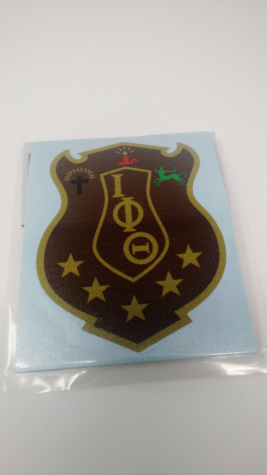 Iota Phi Theta Shield Decal