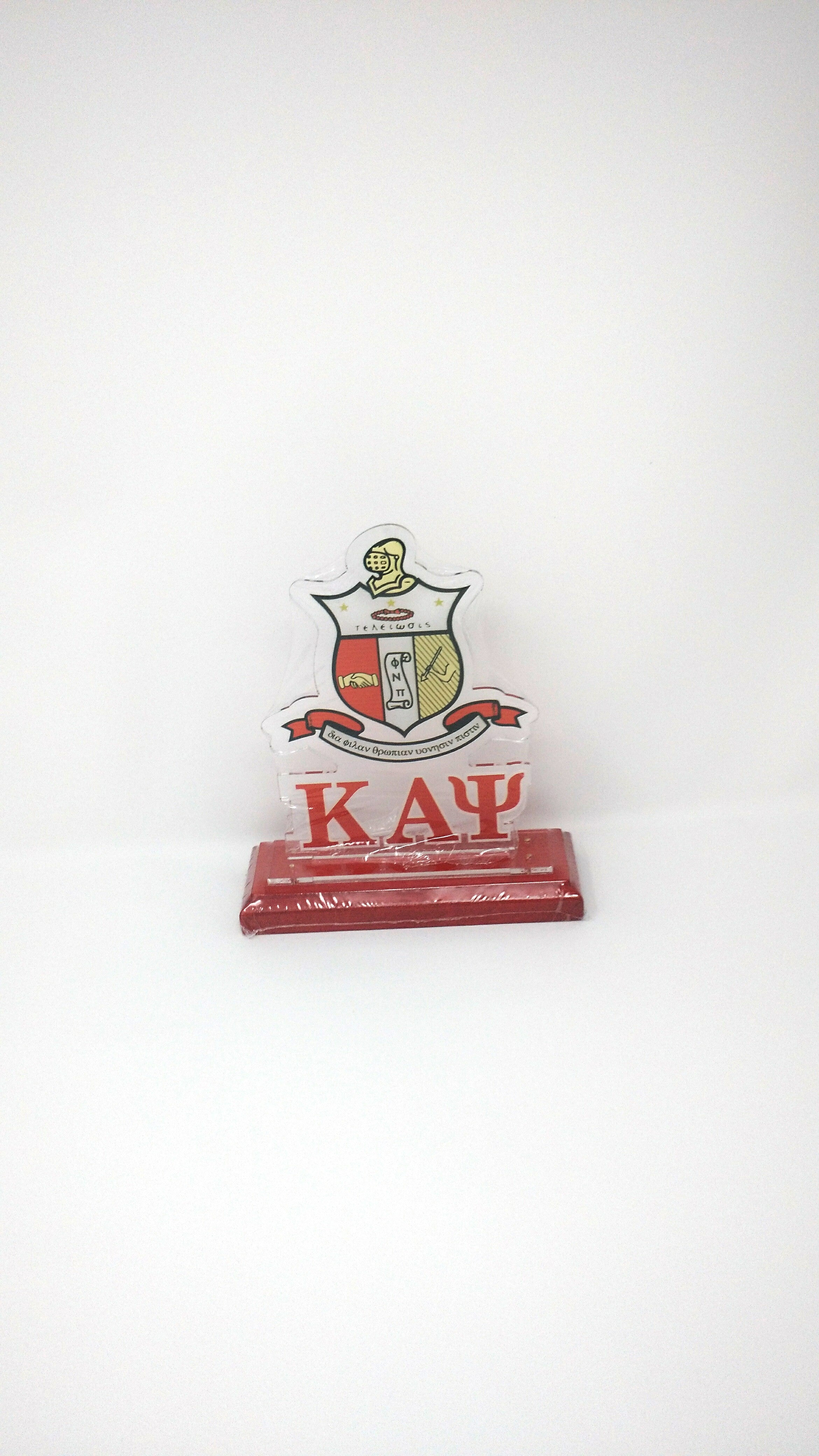 Kappa Alpha Psi Acrylic Desk Top Letters
