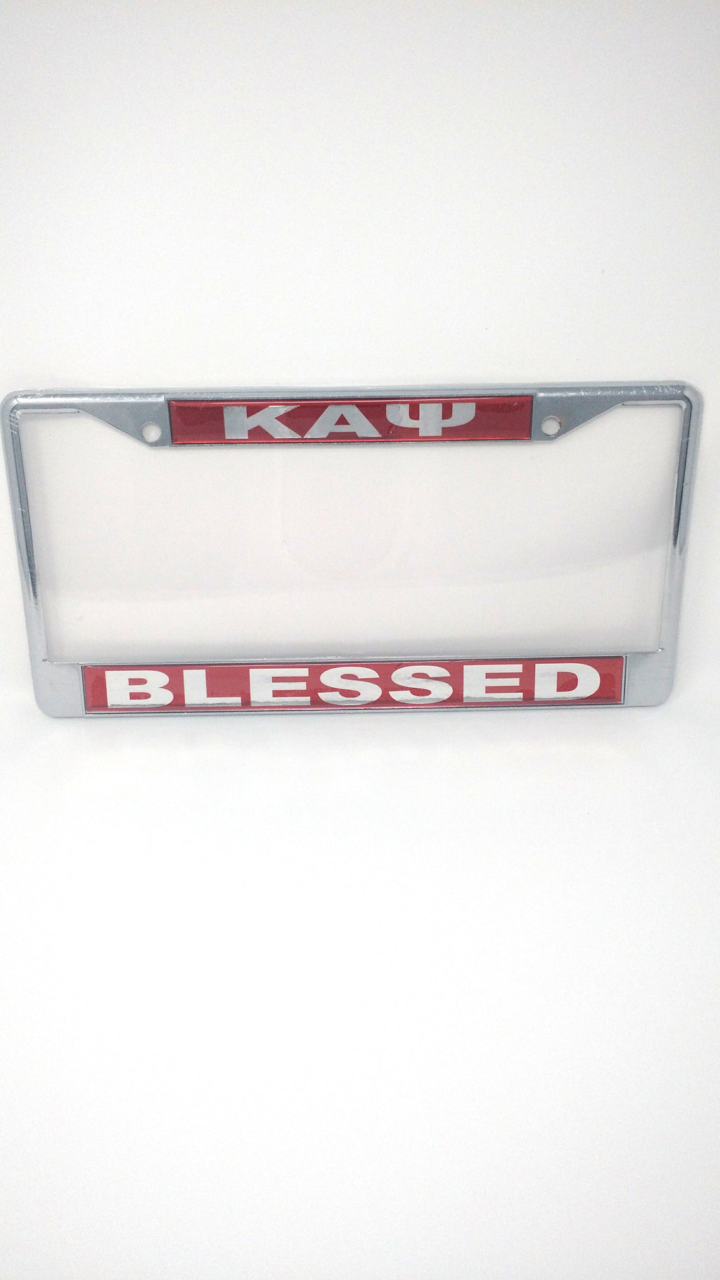 Kappa Alpha Psi Blessed License Plate Frame