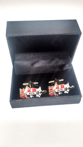 Kappa Alpha Psi Crest Cuff Links