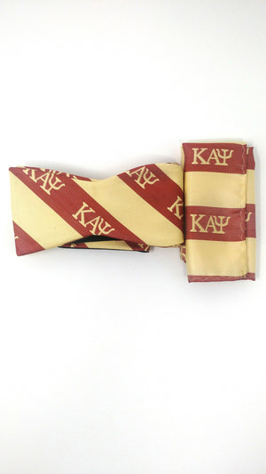 Kappa Alpha Psi Bow Tie and Handkerchief Set