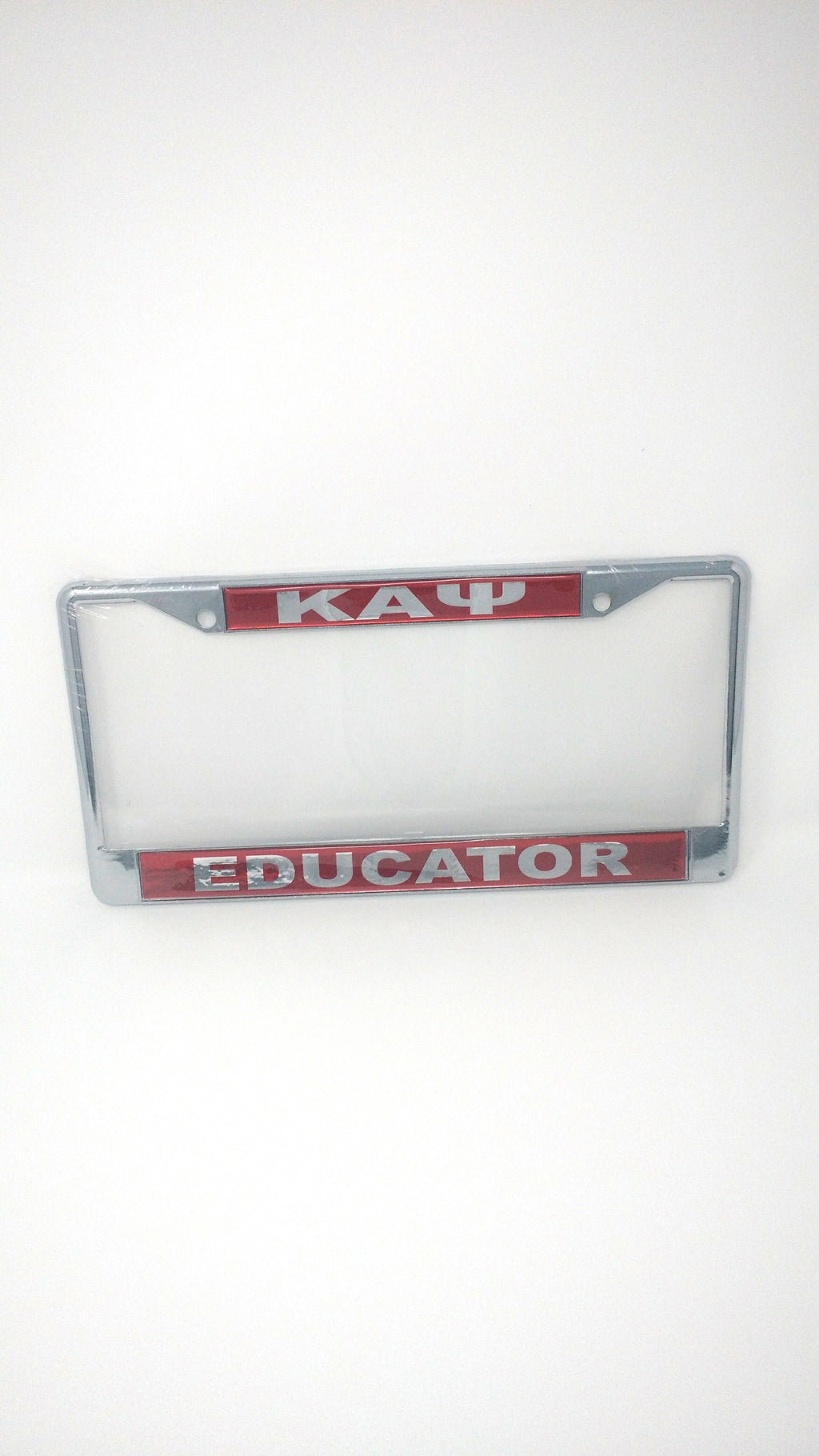 Kappa Alpha Psi Educator License Plate Frame