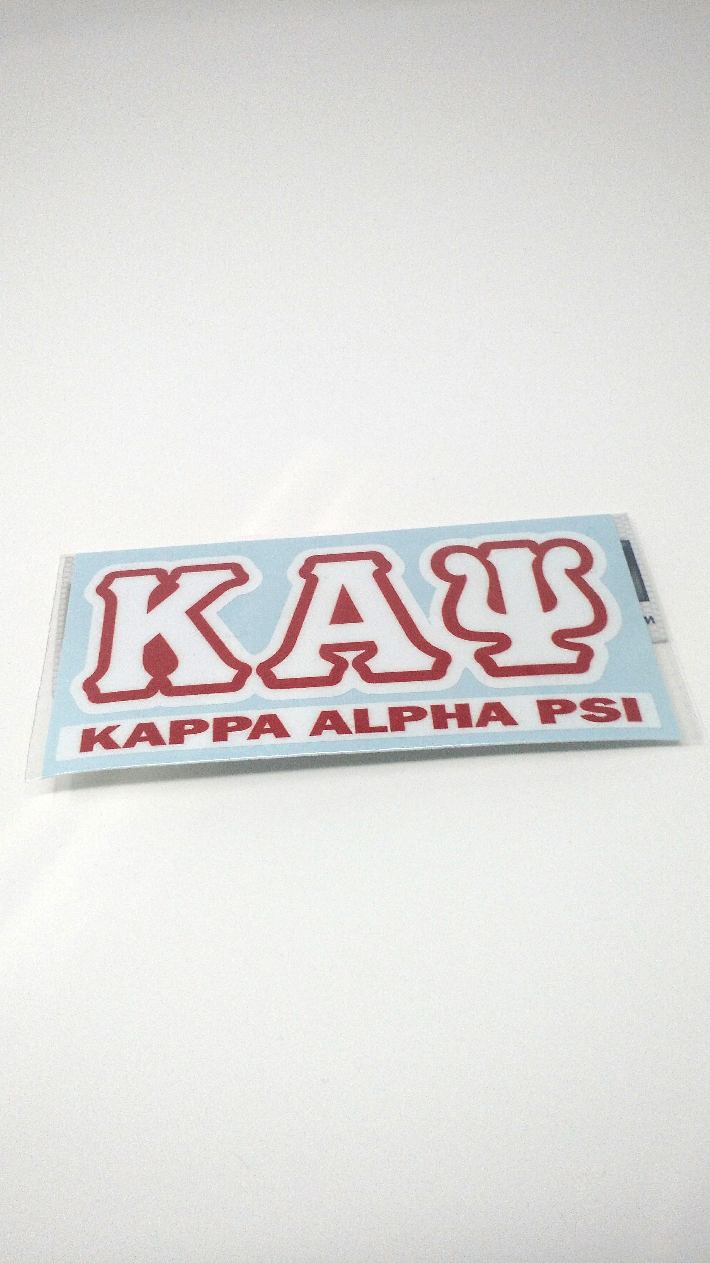 Kappa Alpha Psi Letter Decal