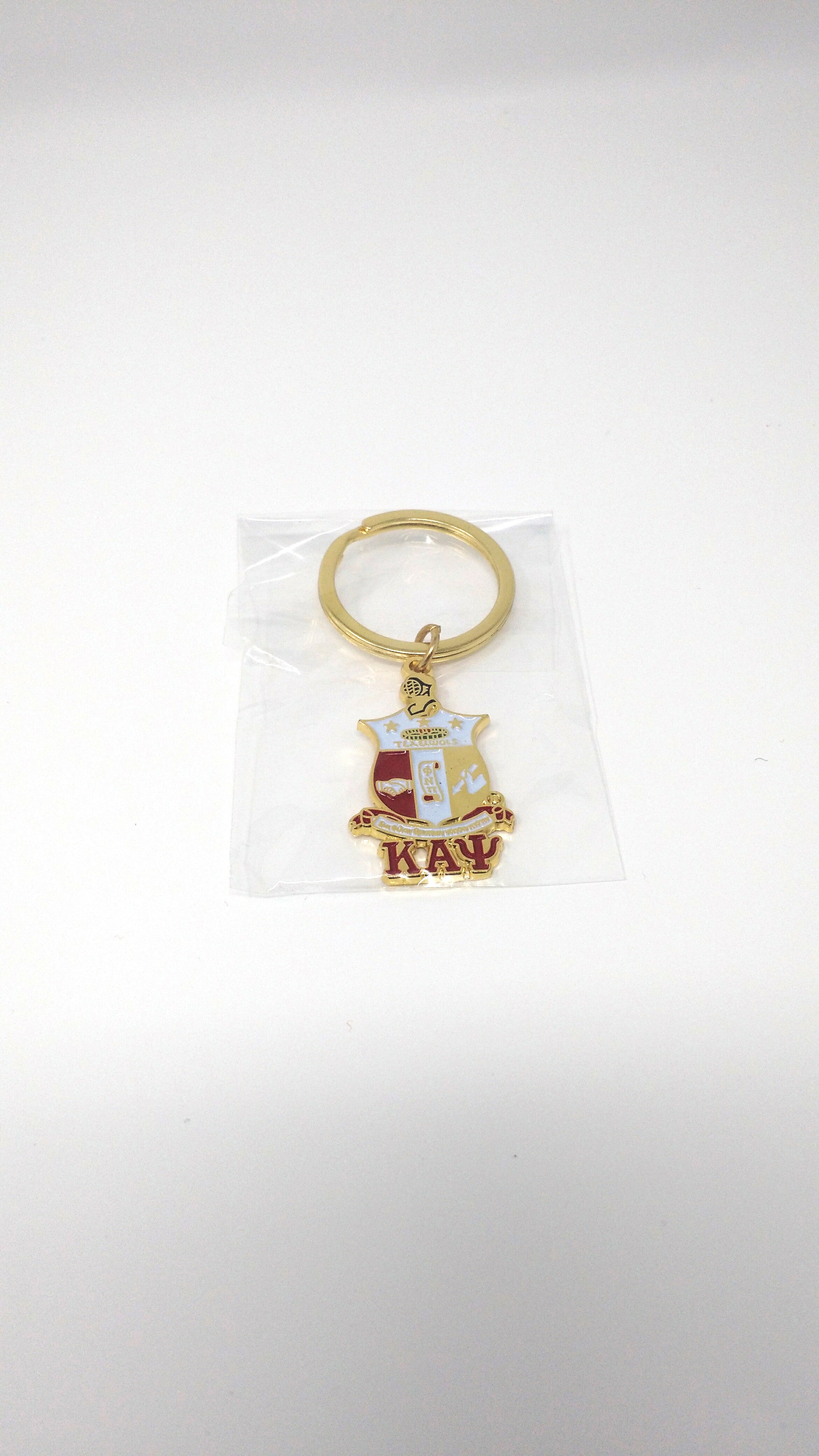 Kappa Alpha Psi Metal Key Chain