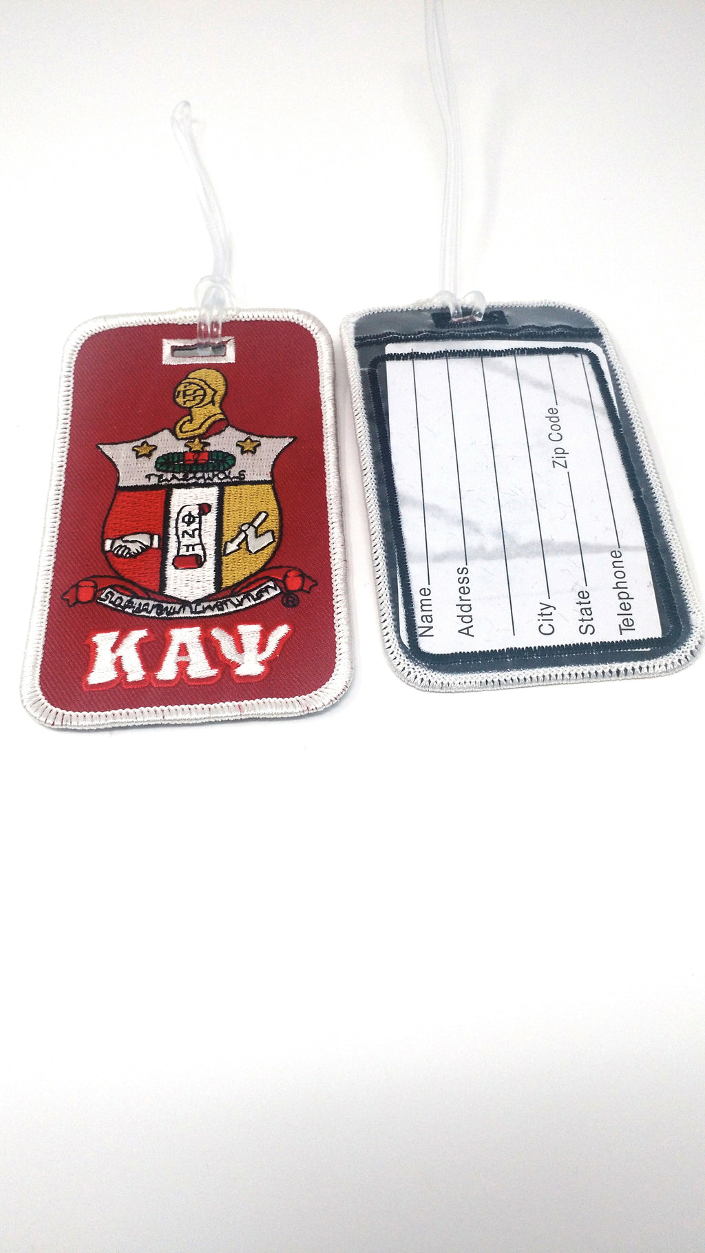 Kappa Alpha Psi Shield Luggage Tag