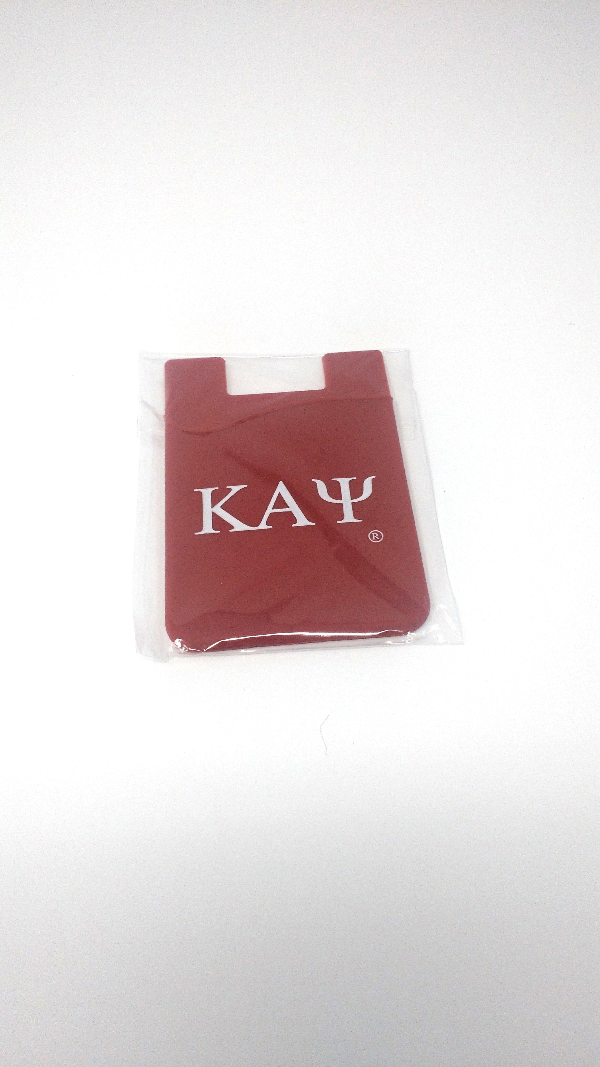 Kappa Alpha Psi Silicone Phone Pocket