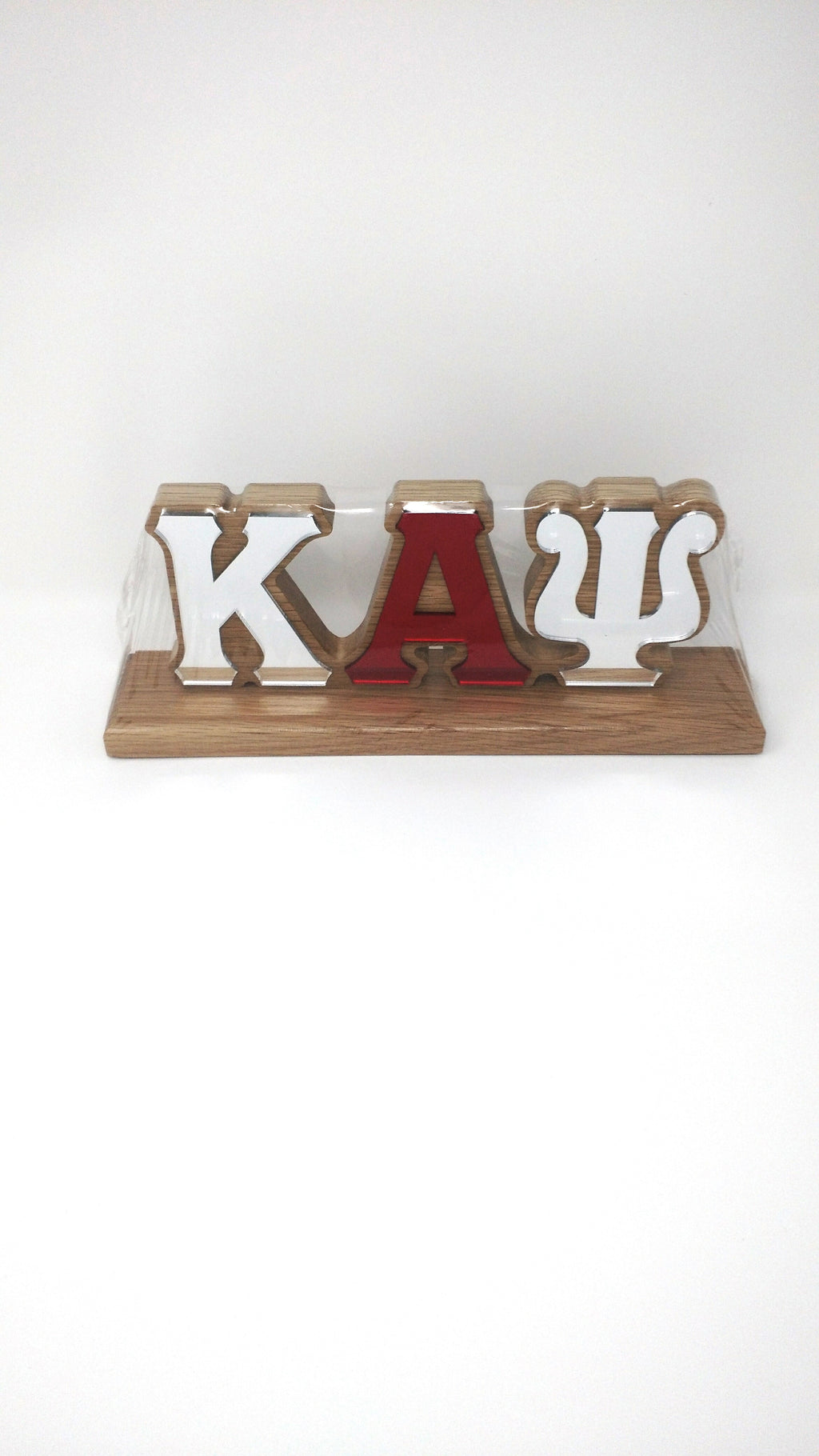 Kappa Alpha Psi Wood Desk Top Letters