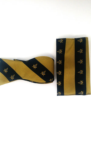 Mason Bow Tie and Handkerchief Set