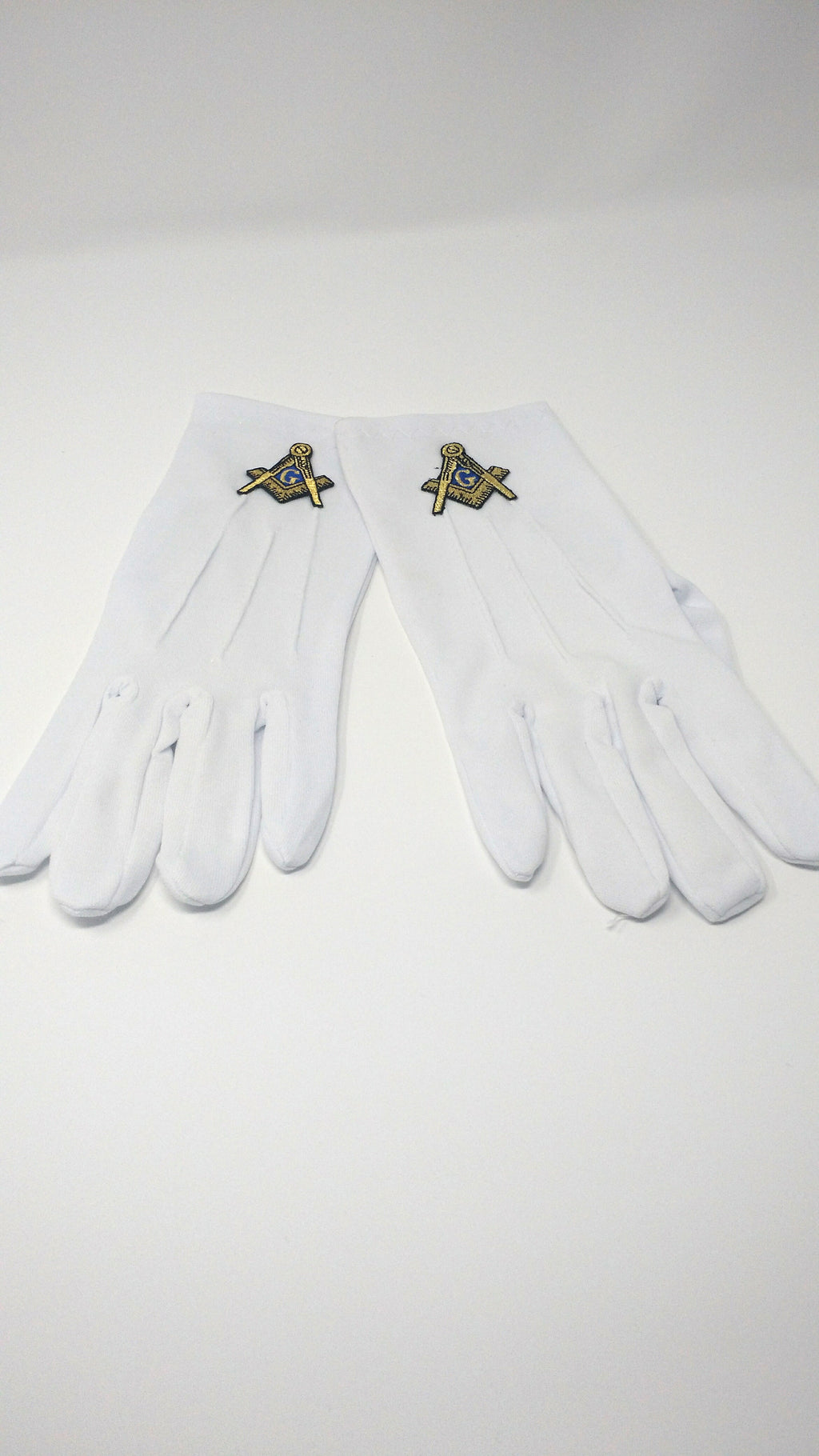Mason Gold Emblem Gloves