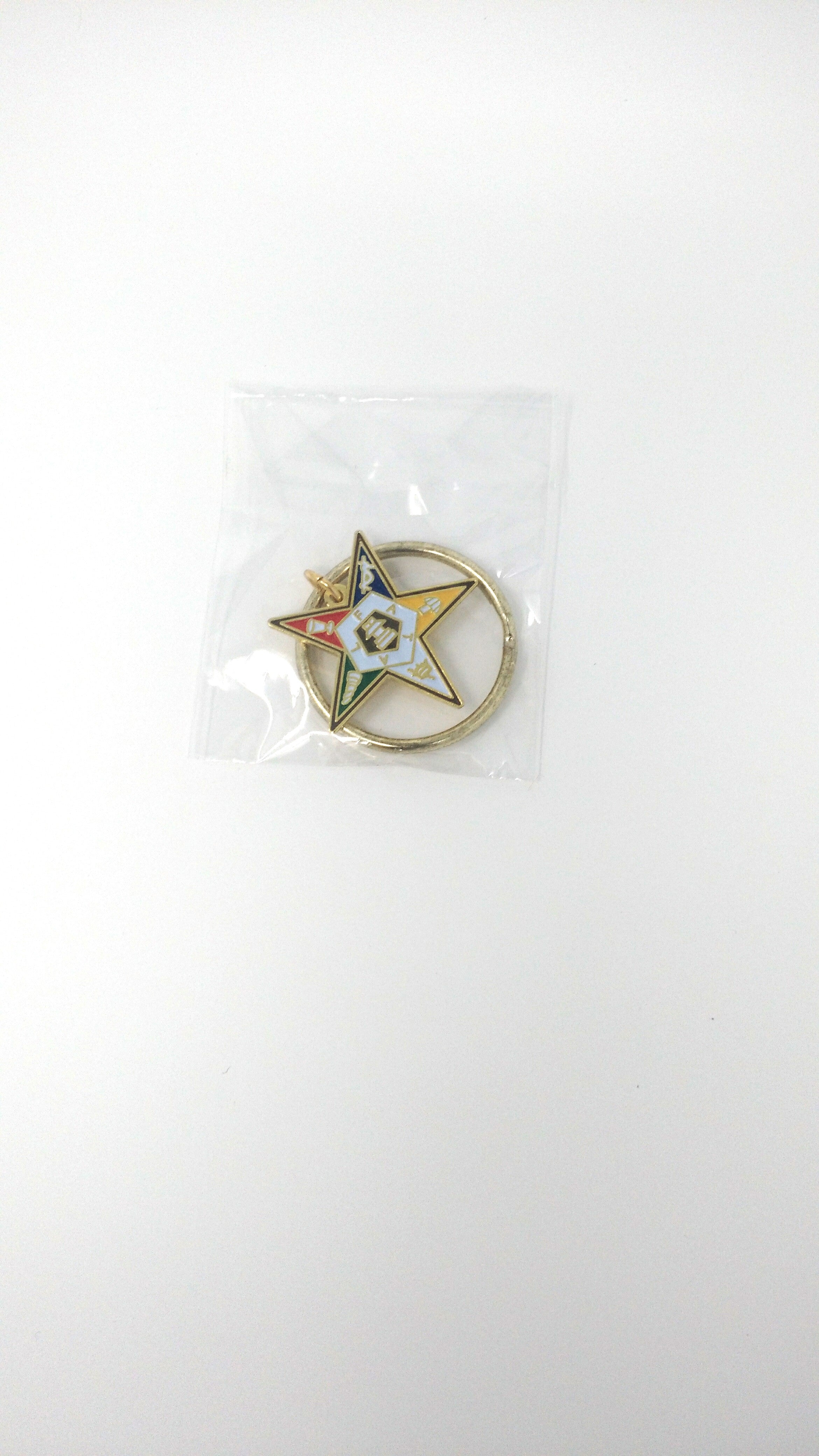 Order of Eastern Star Metal Key Chain
