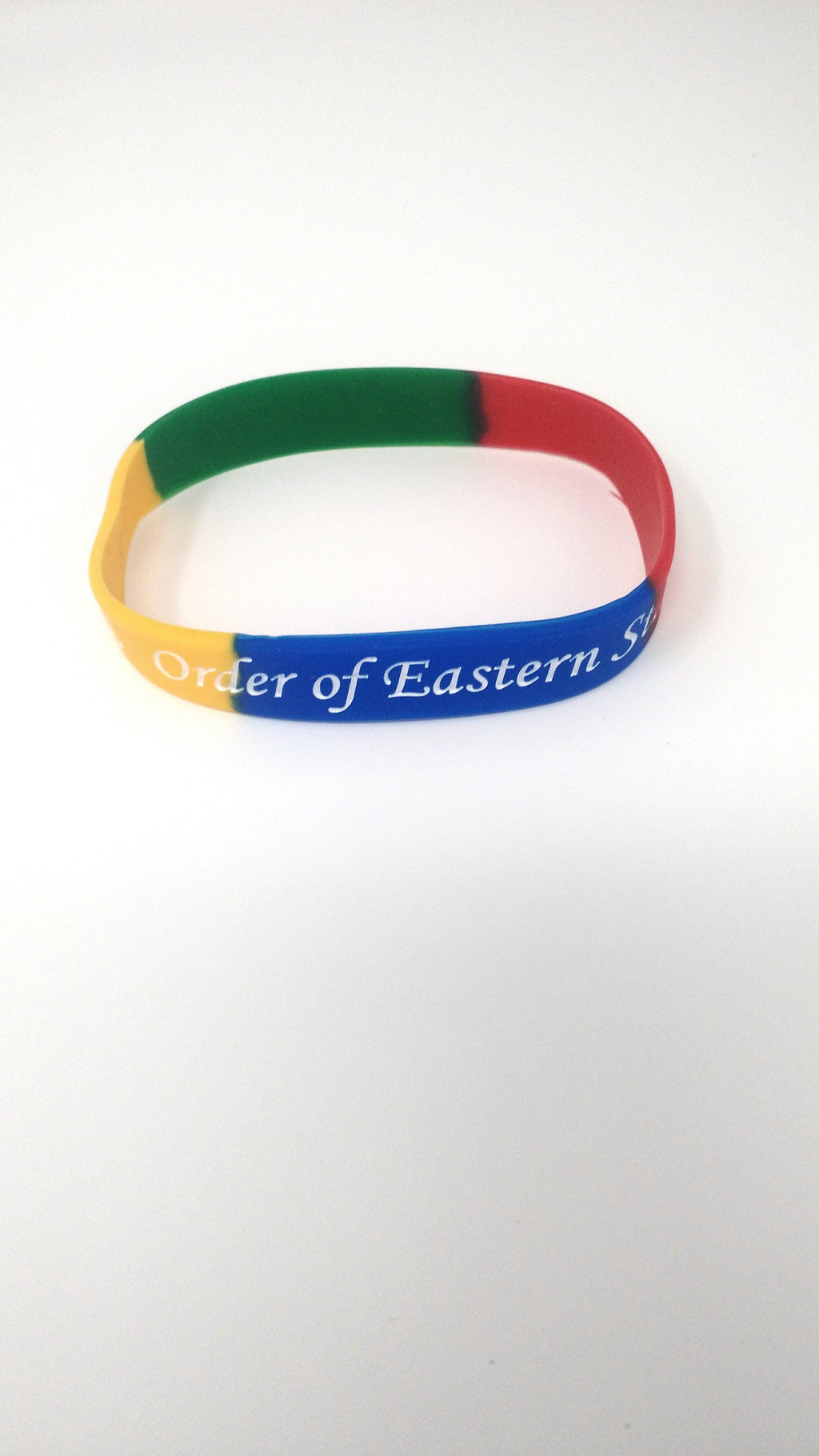 Order of Eastern Star Silicone Bracelet