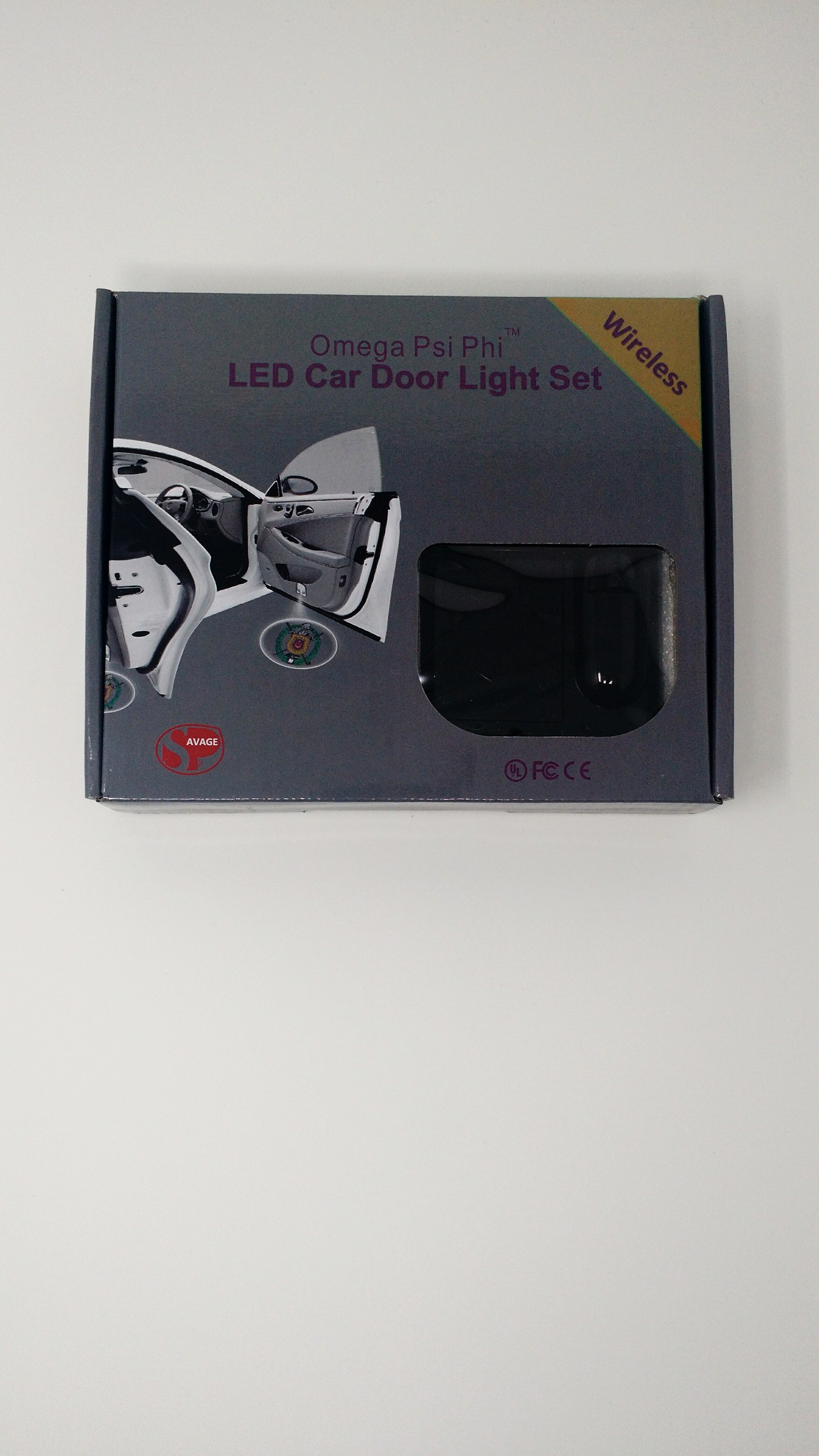 Omega Psi Phi LED Car Door Light
