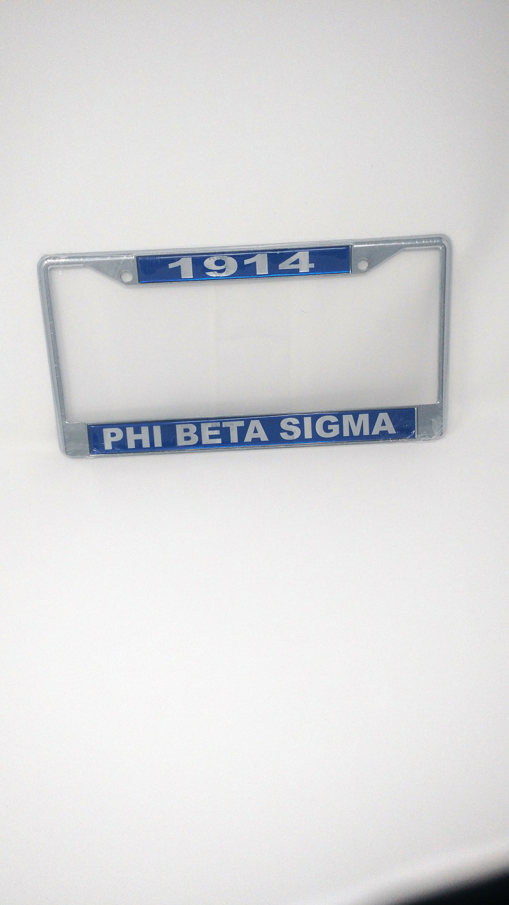 Phi Beta Sigma 1914 License Plate Frame