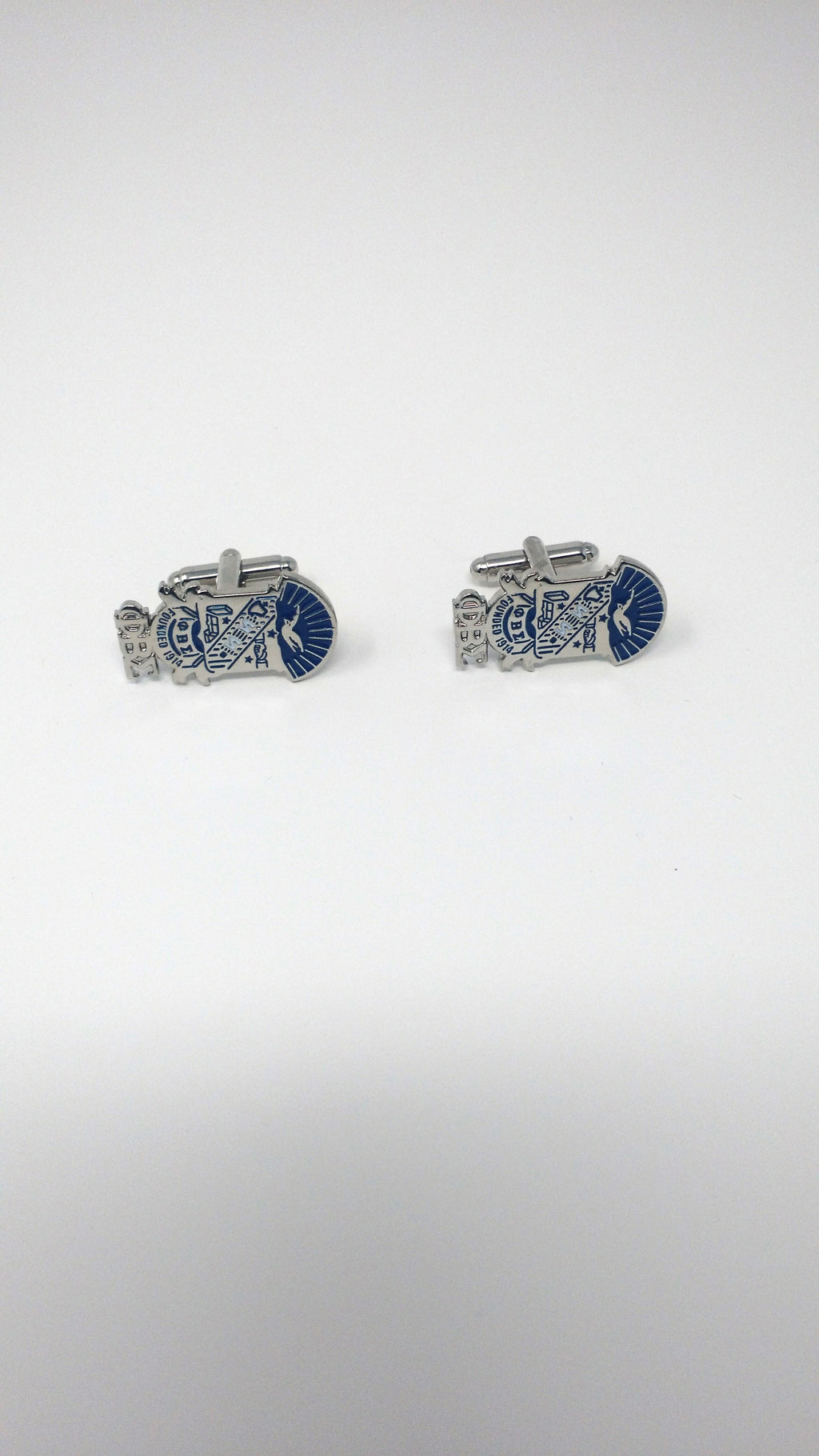 Phi Beta Sigma Crest Cuff Links
