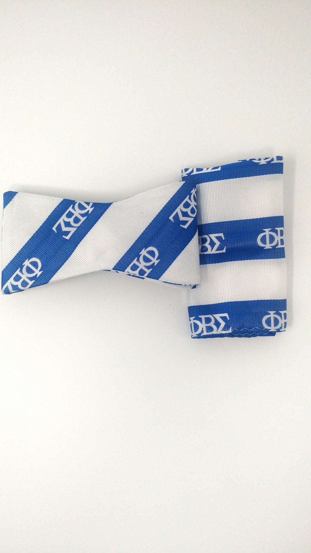 Phi Beta Sigma Bow Tie and Handkerchief Set