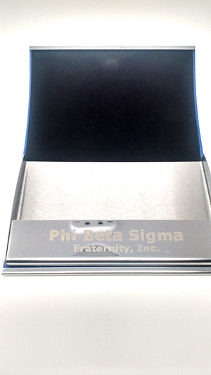 Phi Beta Sigma Business Card Holder