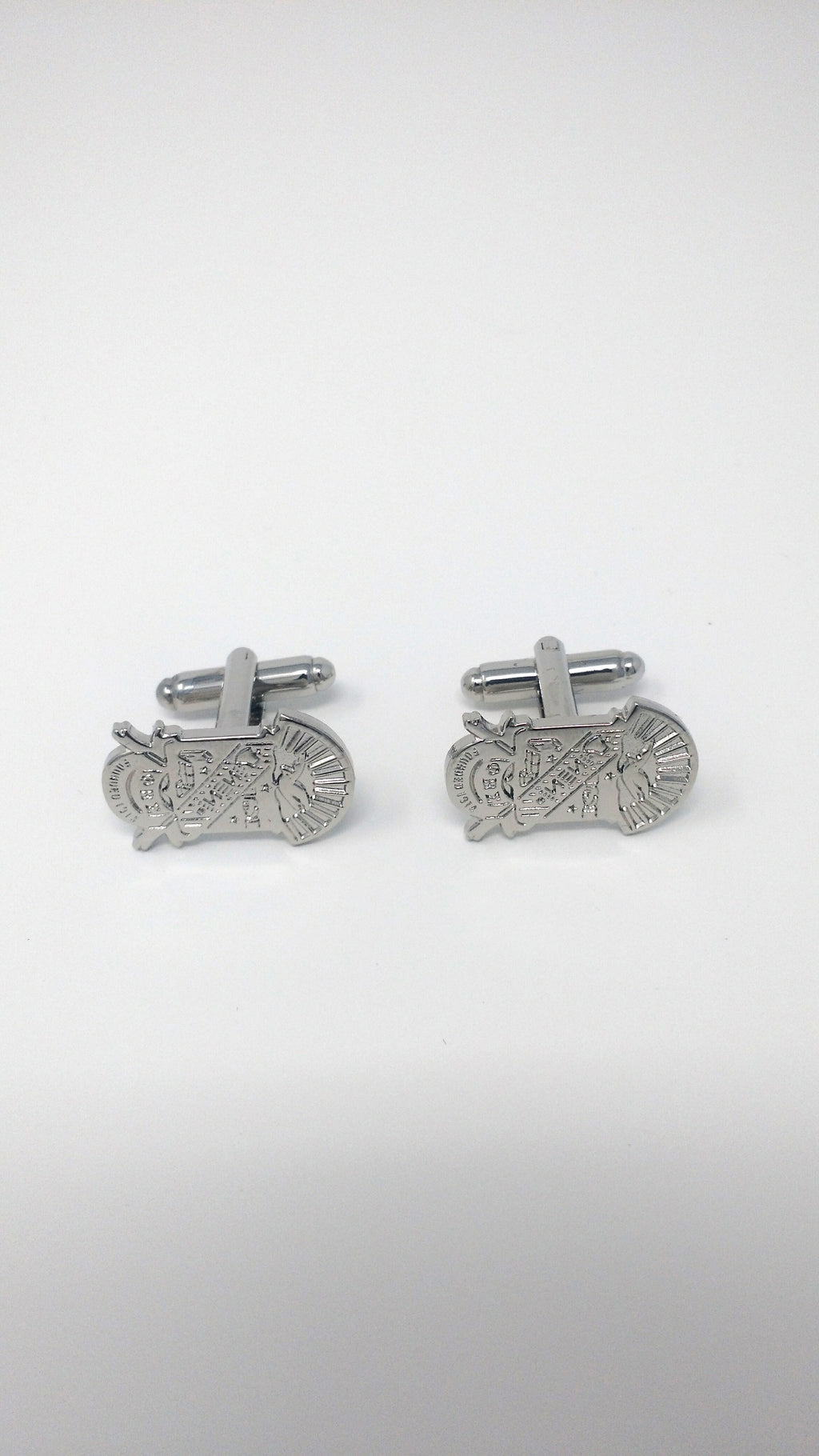 Phi Beta Sigma Sandblast Cuff Links