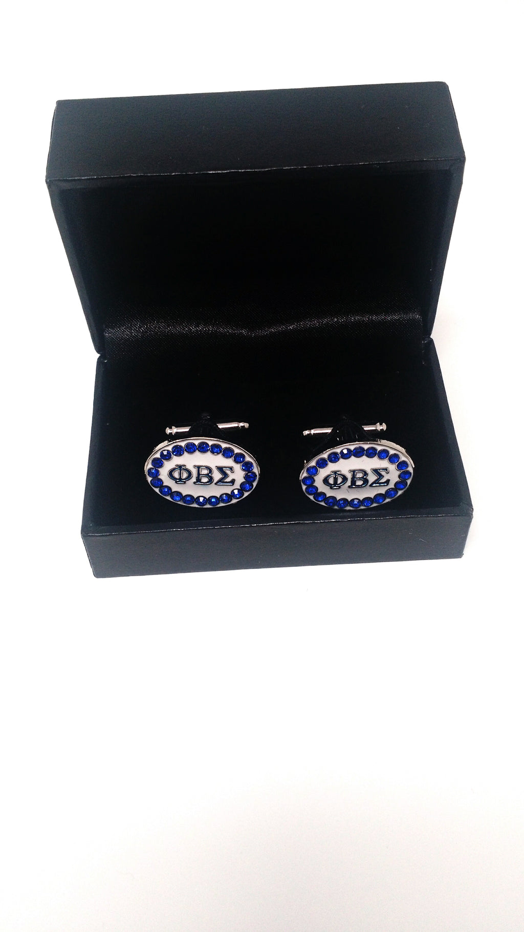 Phi Beta Sigma Stone Cuff Links