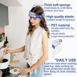 Ultimate Safety Set -Face Shield and Black Mask with 2 Filters, All-Round Protection