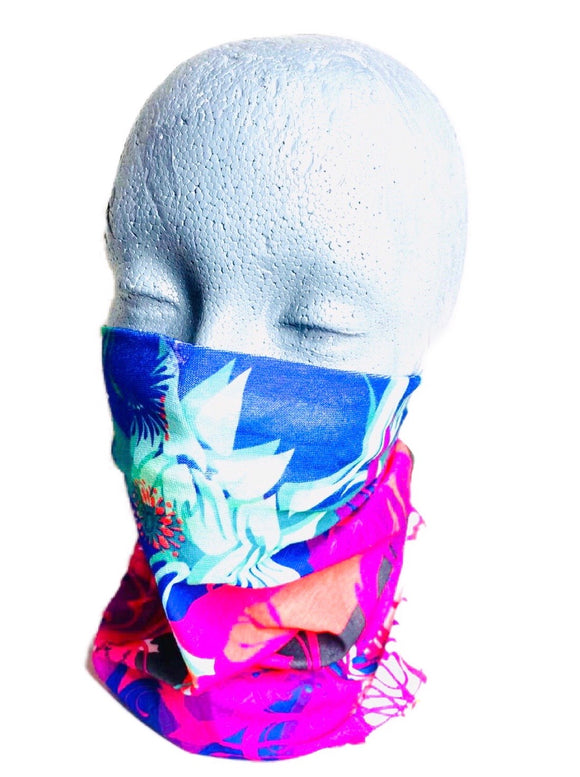 Bandana - Fantasy Design- Neck Gaiter - Lightweight Cool Breathable