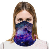 Neck Gaiter Light Weight Cool 3-Pack with 1 each of Grey, Blue & Pink
