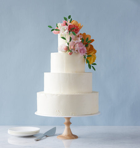 Introducing our new maple wedding cake stand