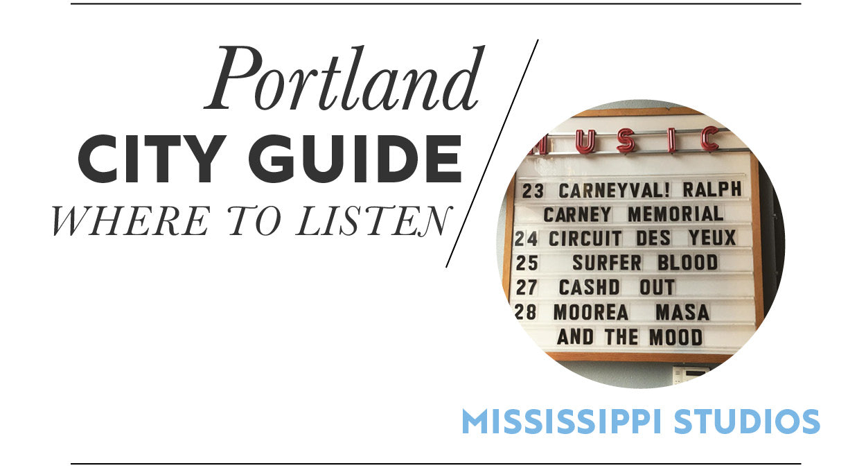 Where to listen, Portland City Guide
