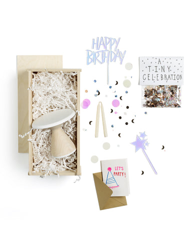 Birthday Cupcake Gift Box by AHeirloom