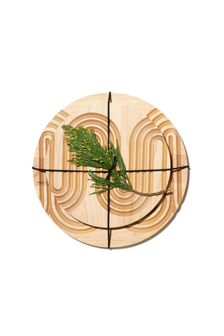 Maple Grooved Trivet by AHeirloom