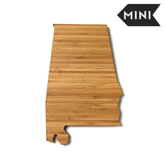 Alabama Shaped Miniature Cutting Board