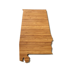 Alabama Shaped Cutting Board