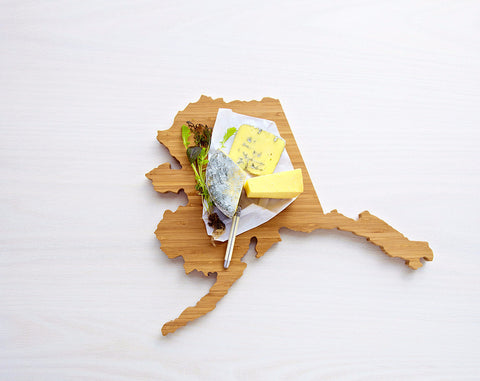 AHeirloom Alaska State Shaped Cutting Board Cheese.jpeg
