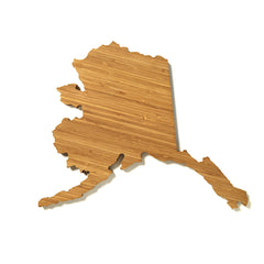Alaska Shaped Cutting Board