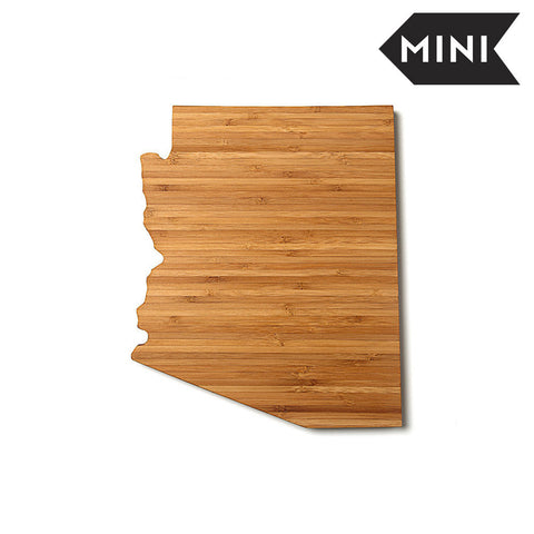 Arizona Shaped Miniature Cutting Board by AHeirloom