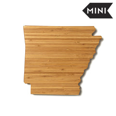 Arkansas Shaped Miniature Cutting Board