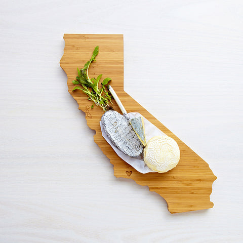 AHeirloom California State Shaped Cutting Board Cheese.jpeg