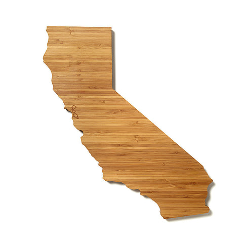 California Shaped Cutting Board by AHeirloom